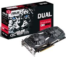 ASUS DUAL-RX580-O8G Graphics Card